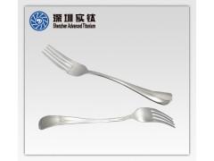 钛餐具叉子 精密铸造 铸钢 熔模铸造