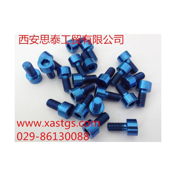 高强度耐腐蚀钛螺丝厂家直销量大从优