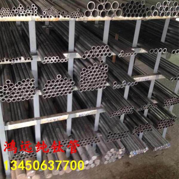 钛合金管材ta1 ta2纯钛管 空心圆棒 无缝钛管耐高压钛管