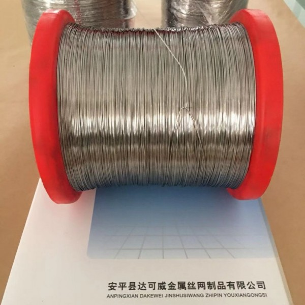 钛丝现货 黑皮编织网钛丝 退火软态钛合金丝实体供应商