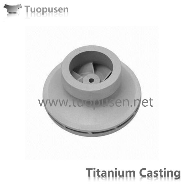 钛合金,钛泵体 钛合金精密铸造