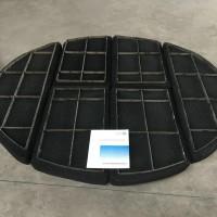 钛丝网除沫器 钛设备专用带格栅TA2汽液分离钛丝网除雾器