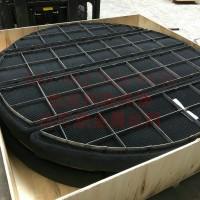 钛网除沫器 喷淋塔钛格栅框架捕沫器