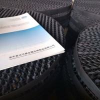 钛填料 钛丝网规整填料 比较面积大耐酸碱达可威60目钛网