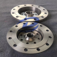 材质TA2纯度99.5钛板式平焊法兰(PL)钛法兰  钛焊环