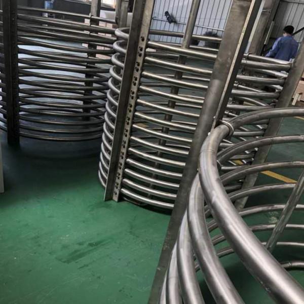 耐腐换热钛盘管;镍盘管;锆盘管;钛合金盘管;定制各种规格盘管