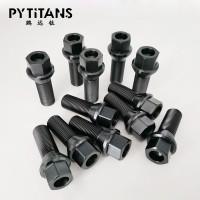 新品销售 钛合金螺栓 宝马奔驰汽车用轮毂黑色