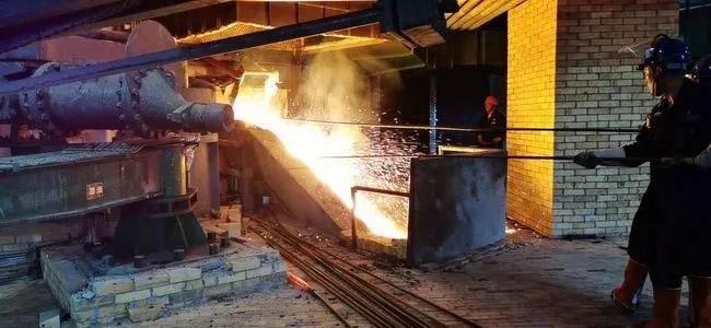 攀枝花政府发贺信 龙佰集团氯化钛渣厂1#CXTZ炉首炉钛渣顺利产出