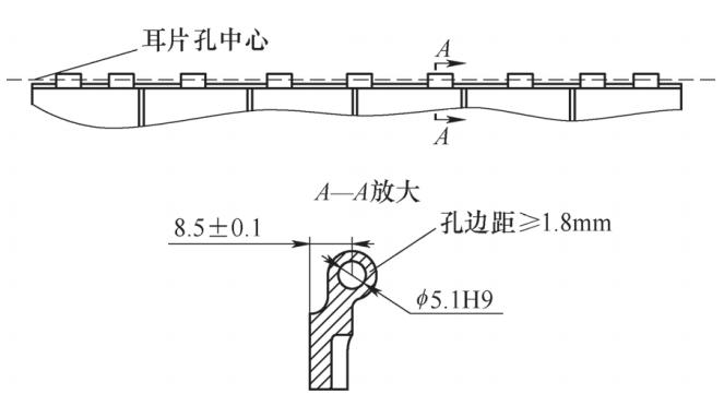 钛合金格栅类零件的加工