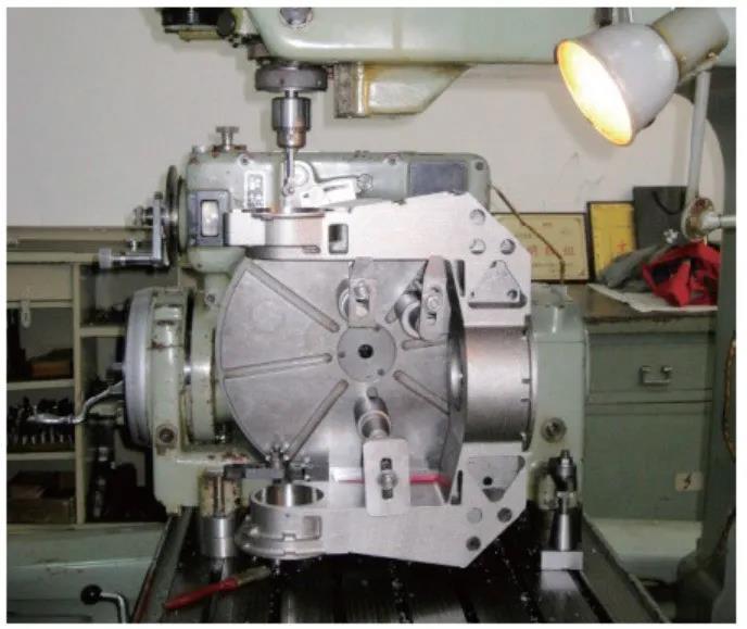 钛合金相机支架高精度同轴孔的精密加工