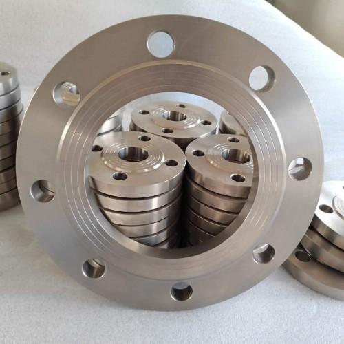 厂家直售钛法兰TA1工业锻造法兰GR2法兰标准件非标按图定制